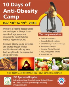 Anti Obesity Camp- English
