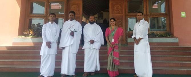 Pathajali-Research-Institute,-Haridwar,-Uttarakhand-visited-the-hospital