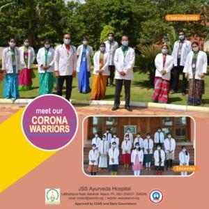 Corona Warriors JSS Ayurveda 02