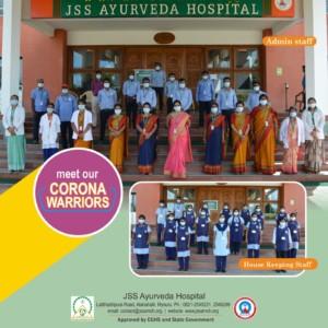 Corona Warriors JSS Ayurveda 03