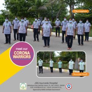 Corona Warriors JSS Ayurveda 04