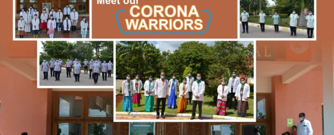 Corona Warriors JSS Ayurveda